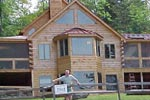 Lake Farley Log Home