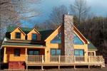 Neighbors Log Home