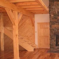 Standard Post & Beam Second Floor System