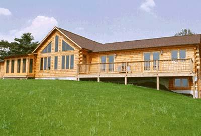 Barnett Hill Log Home