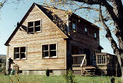 Cape II Log Home