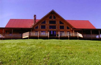 Dunlap Log Home