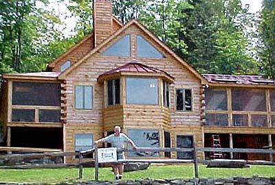 Lake Farley Log Home