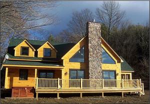 Southern Pennsylvania Log Home