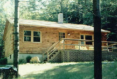Plymouth Log Home