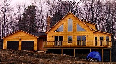 Unity Log Home