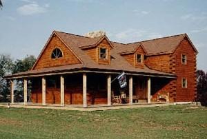Northern Virginia Log Home