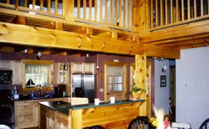 agamenticus timber frame home