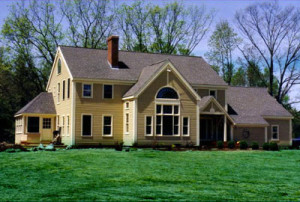 Northern Virginia Timber frame home