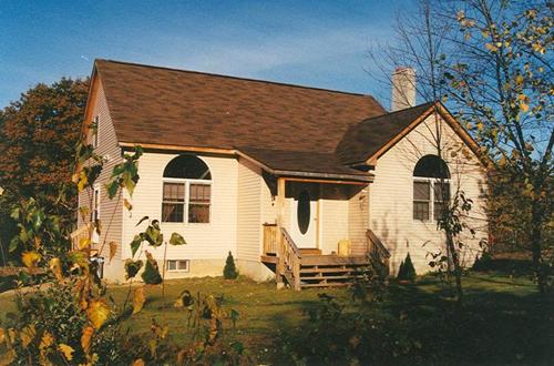 Mount Huggins Timber Frame Post & Beam Home