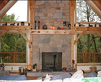 timberframe-fireplace