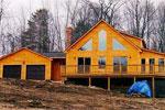 Torok Post and Beam Timber Frame House