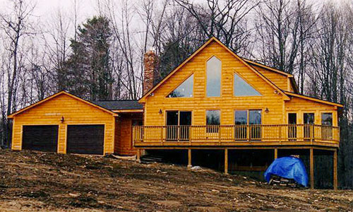 Torok Timber Frame Post & Beam Home