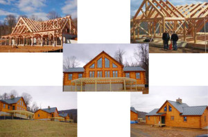 log home buiders & contractors