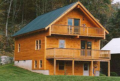 Walpole Timber Frame Post & Beam Home