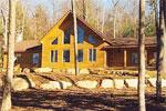 Weldon Timber Frame Post and Beam House