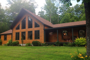 Northern New England Timberframe Home