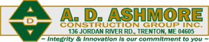 AD Ashmore Log home builder
