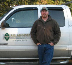 Allan Ashmore, log home contractor