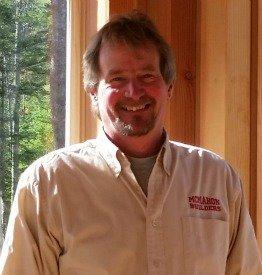 steve mcmahon, crockett log homes builder, mid coast ME