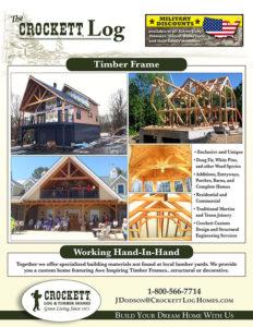 The Crockett Log - Timber Frames 0517