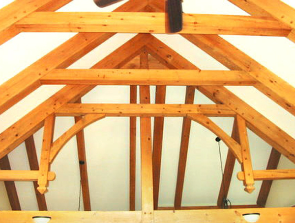 timber-frame-rafters