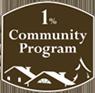 1% Community Program