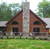 Two-Family Log Homes