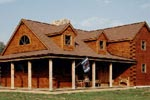 Vershire Log Home
