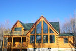 Gilsum Log Home