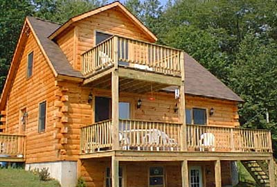 Alstead Log Home