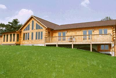 Barnett Hill Log Home