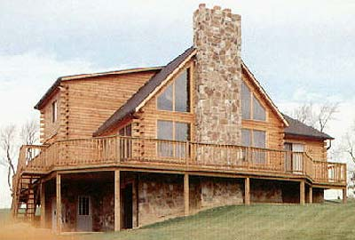 Carlisle Log Home