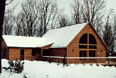 Duncannon log home