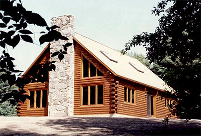 Halifax Log Home