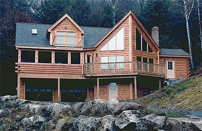 Hampton Log Home