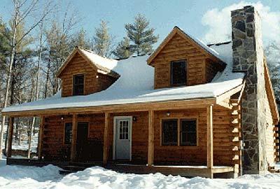 Monroe Log Home