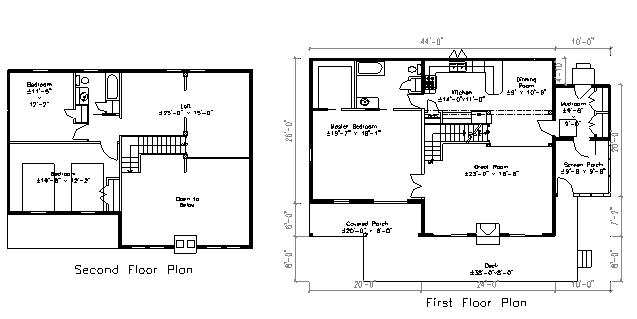 Neighbors Log Home floor plan
