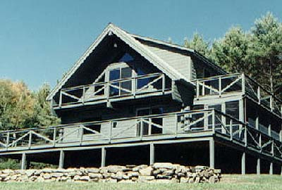 Walpole Log Home