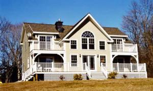 Northern VA Timber frame home