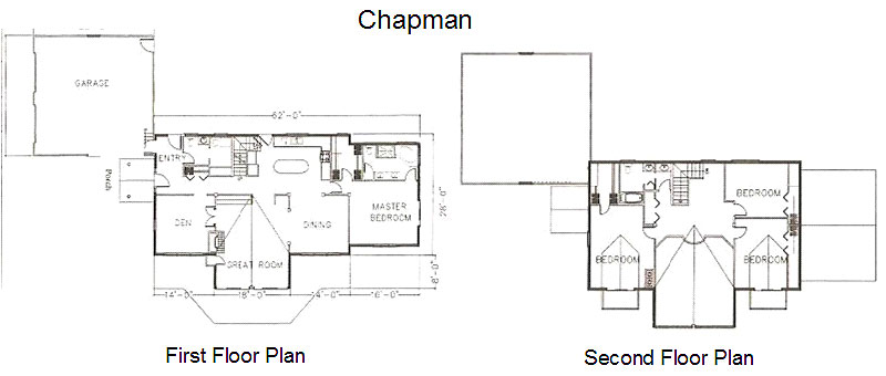 Chapman Timber Frame Post & Beam Home floorplan