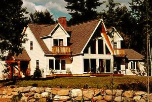 chapman timber frame home