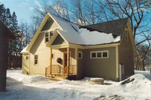 hanover NH timber frame home
