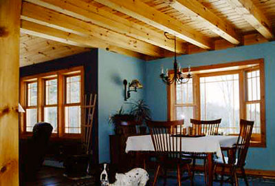 Heritage Post & Beam Timber Frame Home plan & kit