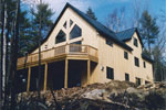 Highland Lake Timberframe Post and Beam House