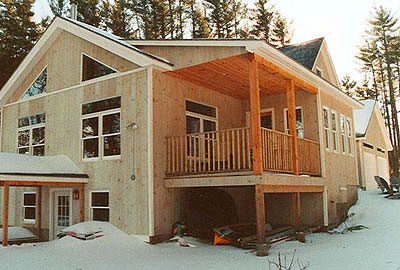 loom pond timberframe home
