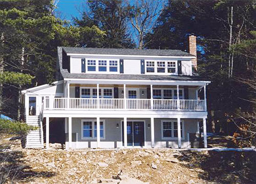 Spotford timberframe home