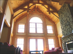 Low Heating Cost Timber Frame Home