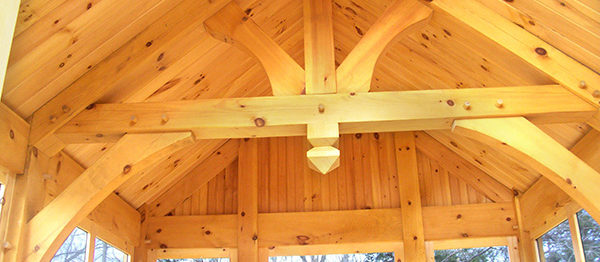 timber frame kings post