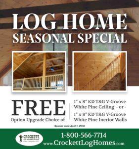 Crockett Log & Timber Frame Home Seminar